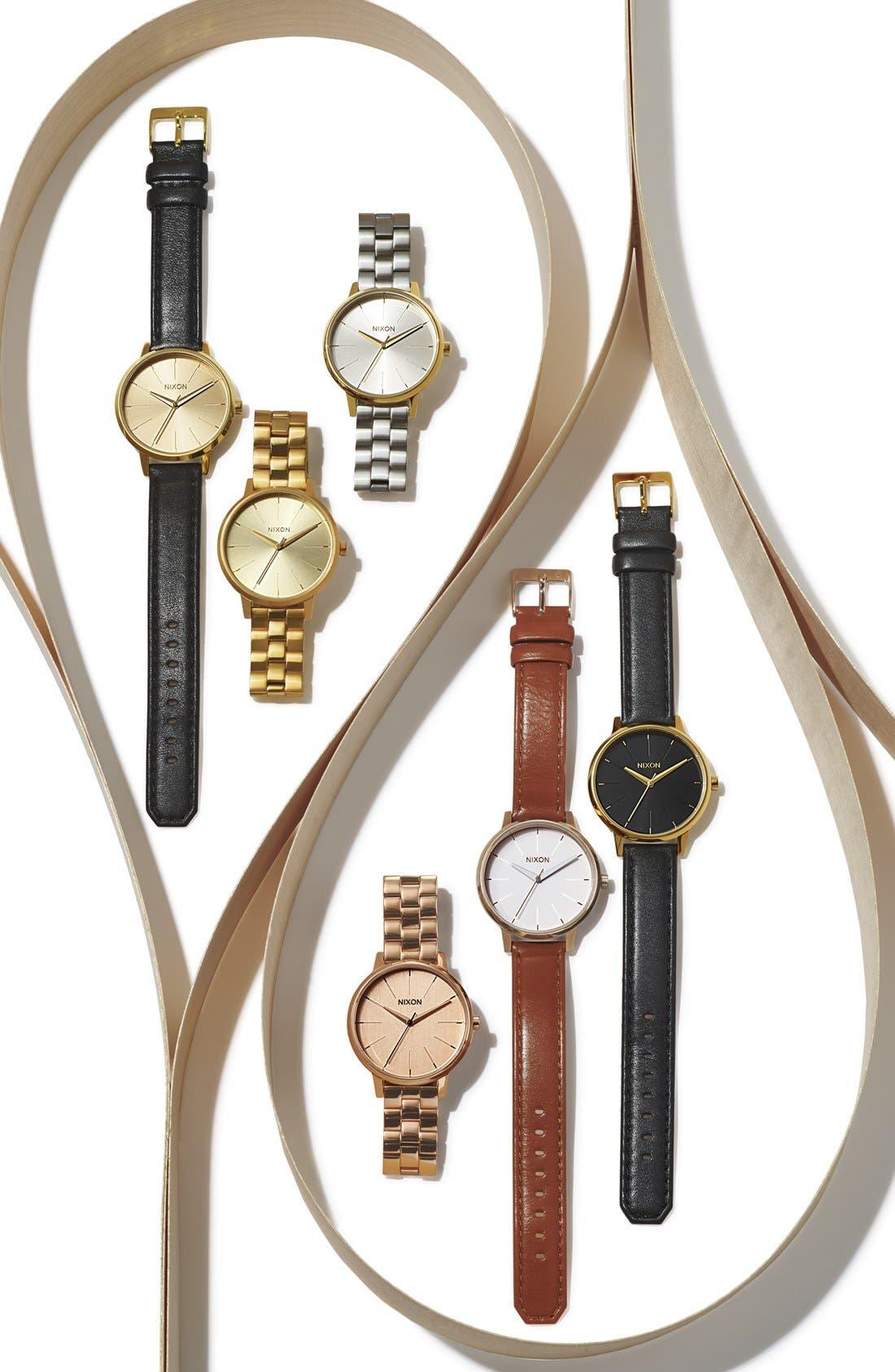 Alternate Image 4  - Nixon 'The Kensington' Bracelet Watch, 37mm