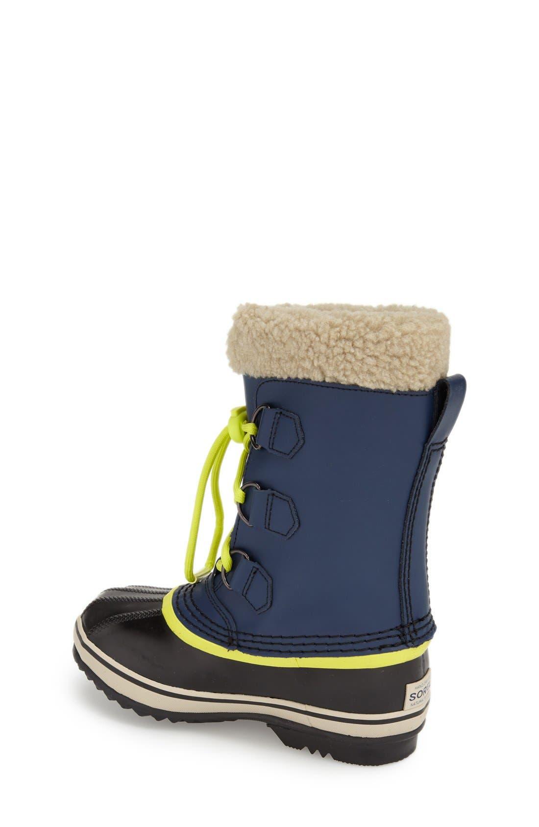 Alternate Image 2  - SOREL 'Yoot Pac' Waterproof Snow Boot (Toddler, Little Kid & Big Kid)