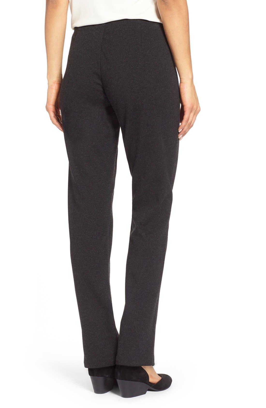 Alternate Image 2  - Eileen Fisher Skinny Ponte Pants (Regular & Petite)
