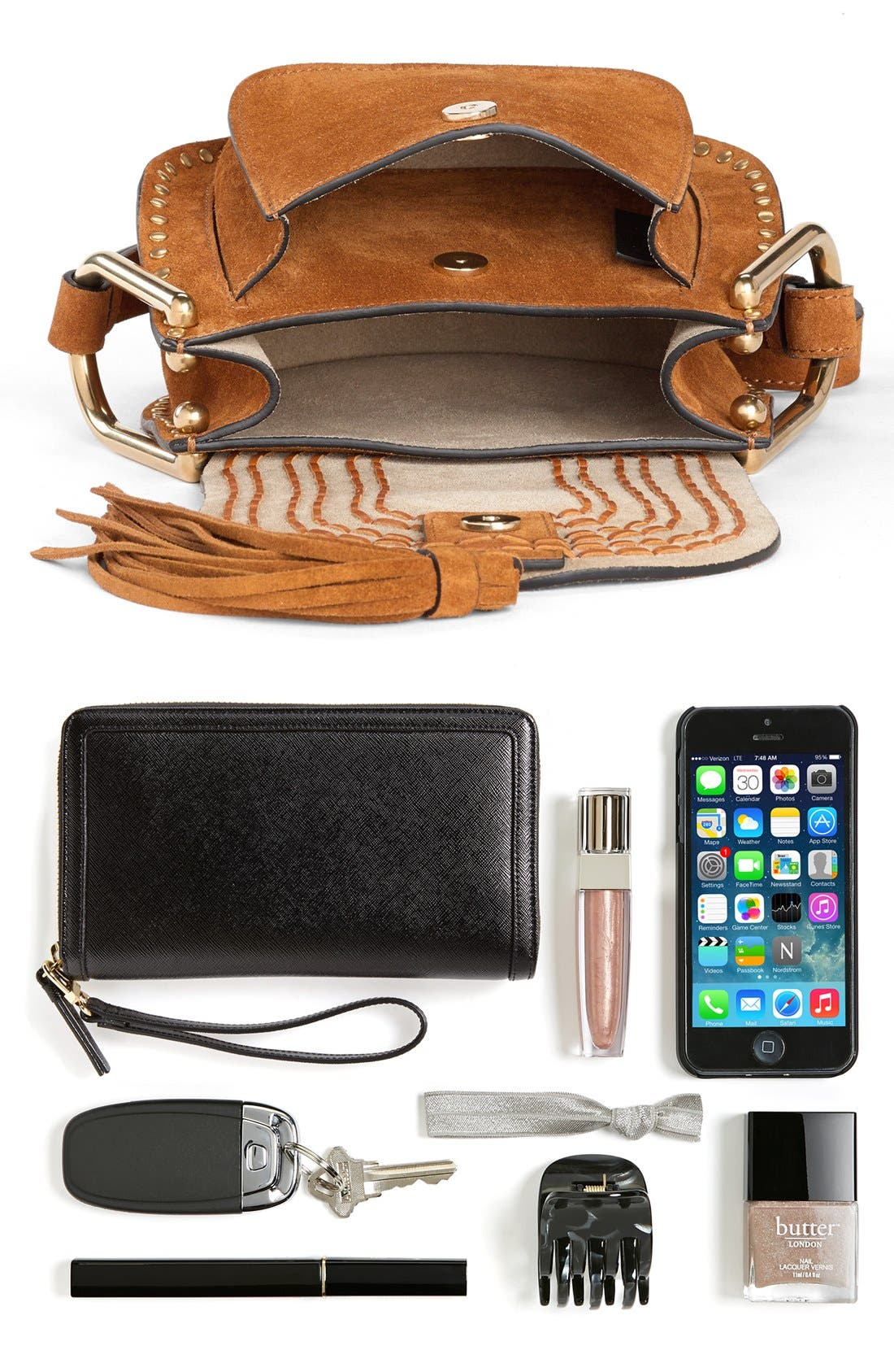 Alternate Image 6  - Chloé 'Mini Hudson' Crossbody Bag