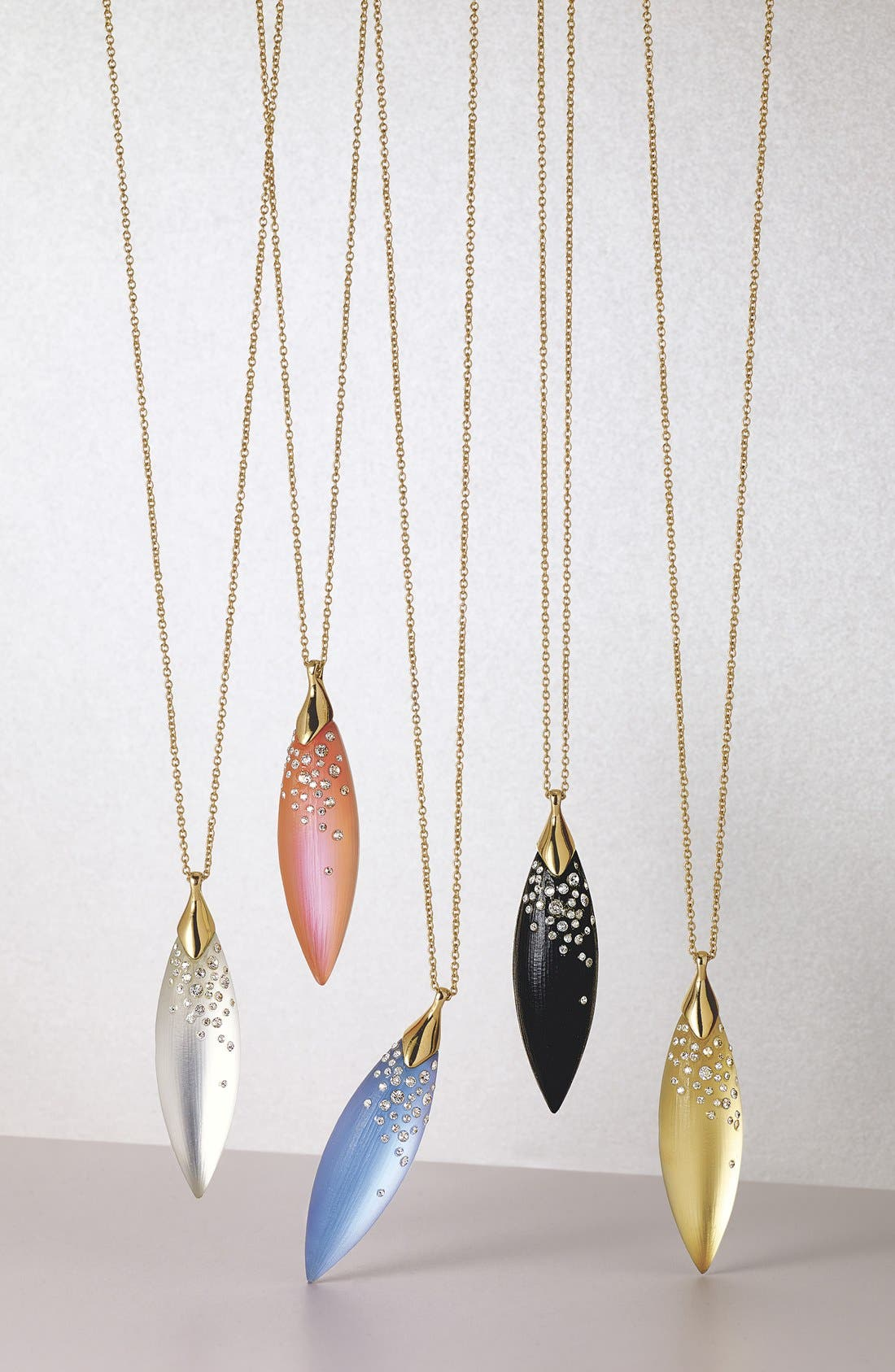 Alternate Image 3  - Alexis Bittar 'Lucite®' Encrusted Marquise Pendant Necklace