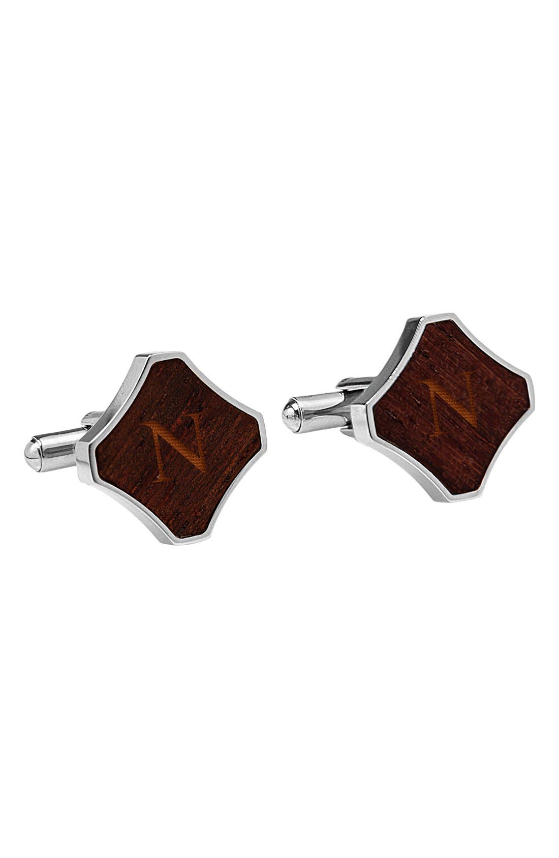 CATHYS CONCEPTS Monogram Cuff Links