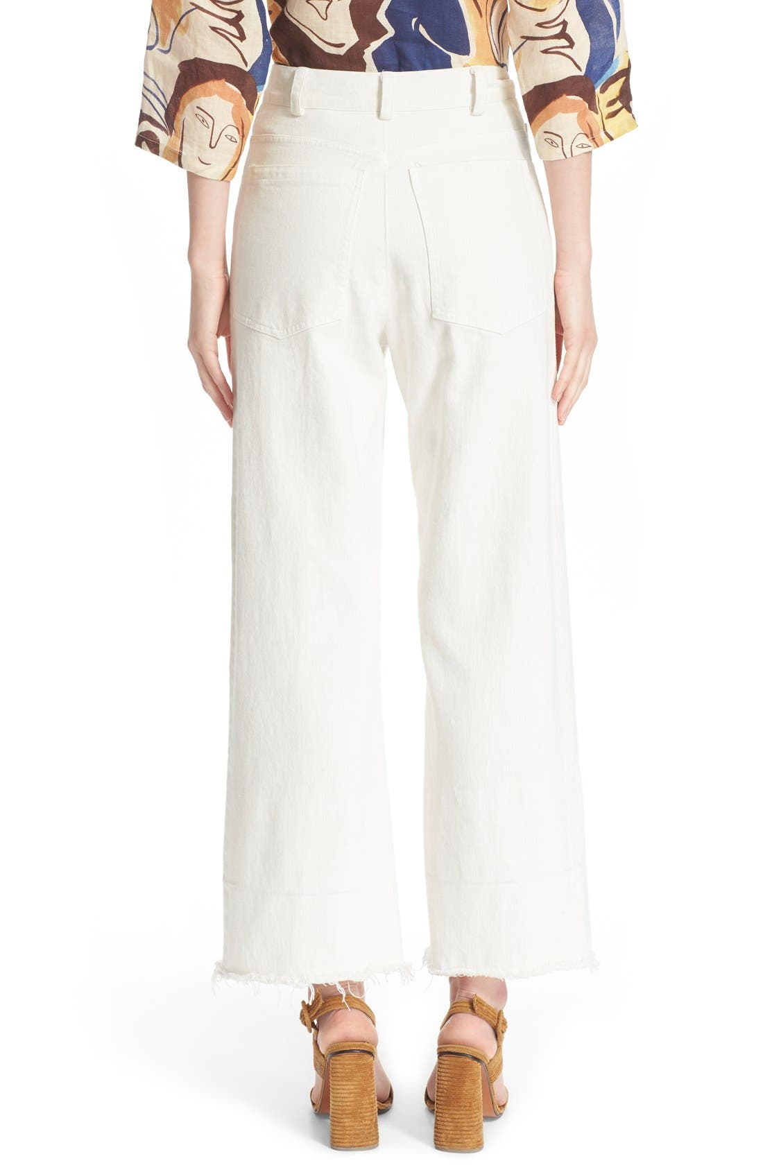 Alternate Image 2  - Rachel Comey Legion Wide Leg Denim Pants