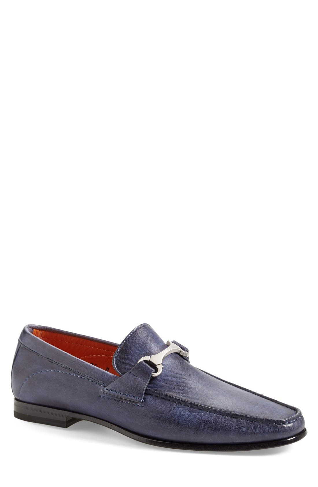 'Wake' Bit Loafer,                             Main thumbnail 1, color,                             Blue