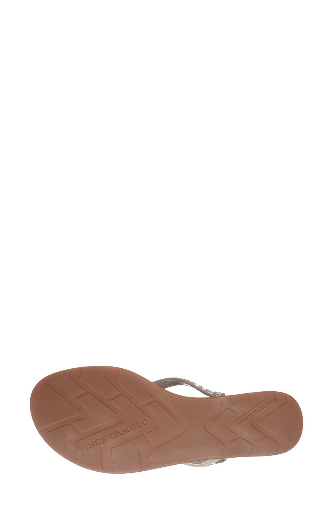 Alternate Image 4  - Vince Camuto 'Ellita' Flat Sandal (Women)