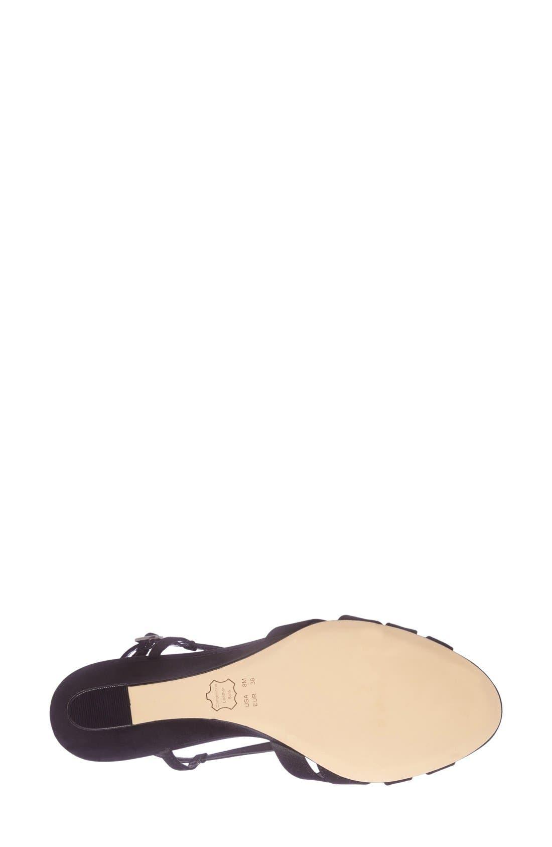 Alternate Image 4  - Nina 'Voleta' Wedge Sandal (Women)