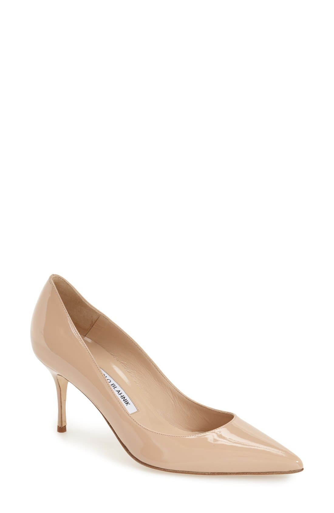 MANOLO BLAHNIK Nausikaba Pointy Toe Pump