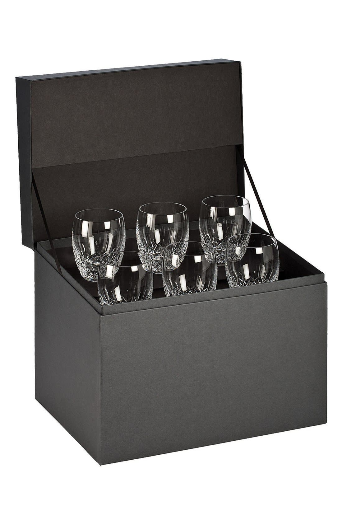 Alternate Image 1 Selected - Waterford 'Lismore Essence' Lead Crystal Double Old Fashioned Glasses (Set of 6)
