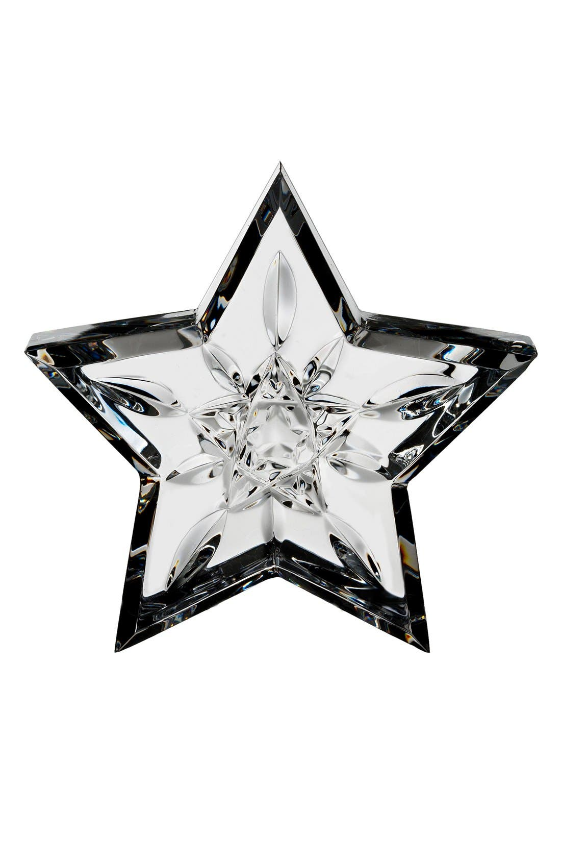 Main Image - Waterford 'Lismore Star' Lead Crystal Paperweight