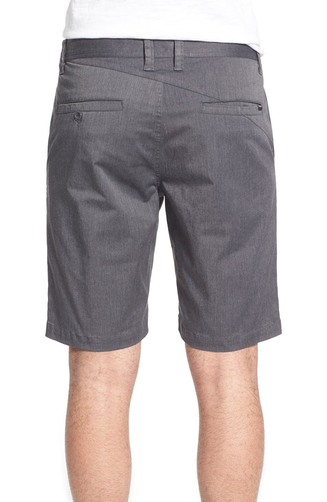 'Lightweight' Shorts,                             Alternate thumbnail 2, color,                             Charcoal Heather
