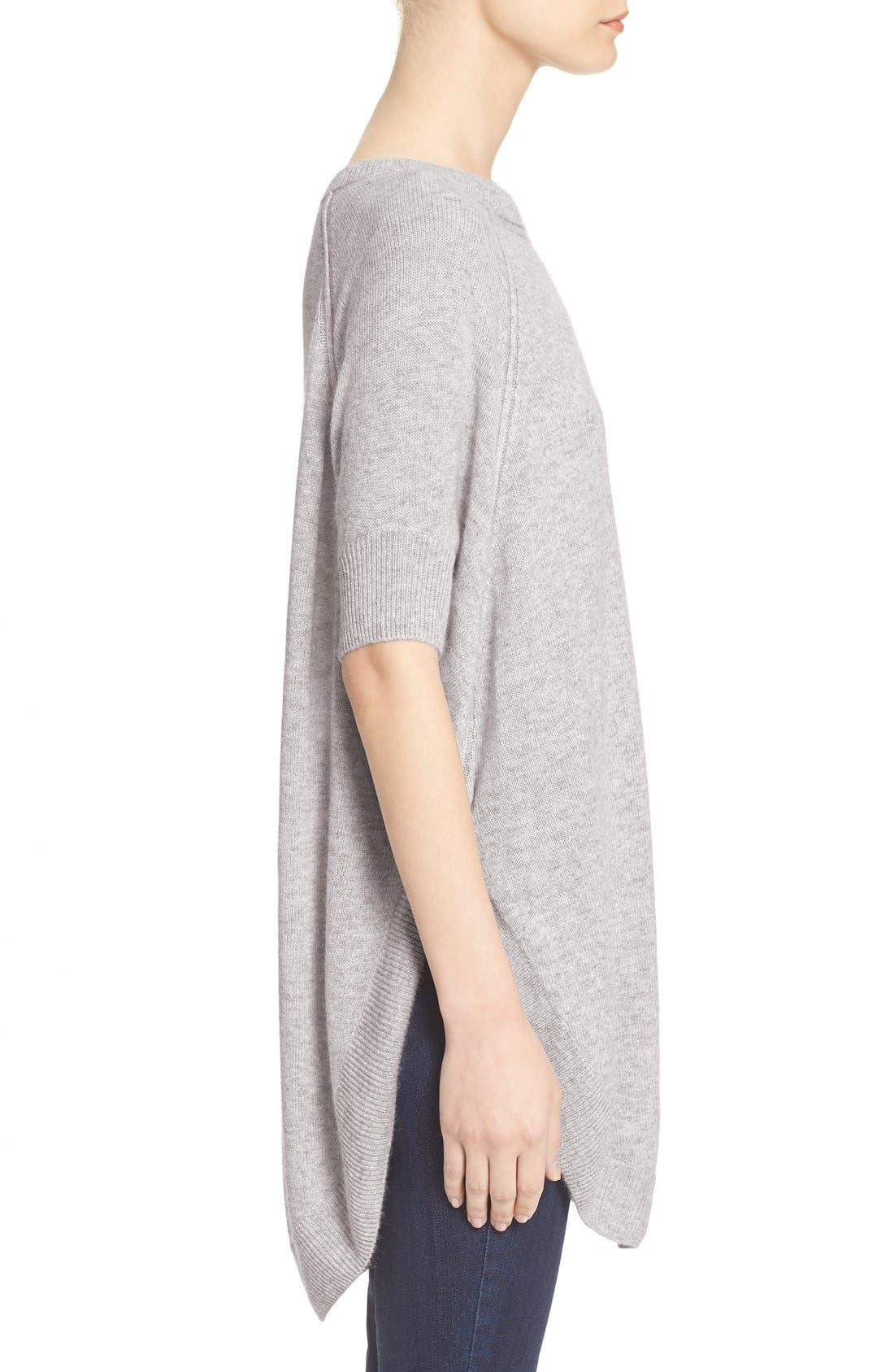 Alternate Image 3  - Alice + Olivia 'Parcell' Short Sleeve Wool Tunic