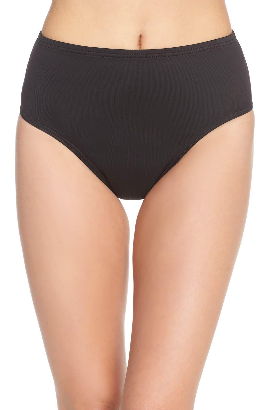 'Basic' Swim Briefs,                         Main,                         color, Black