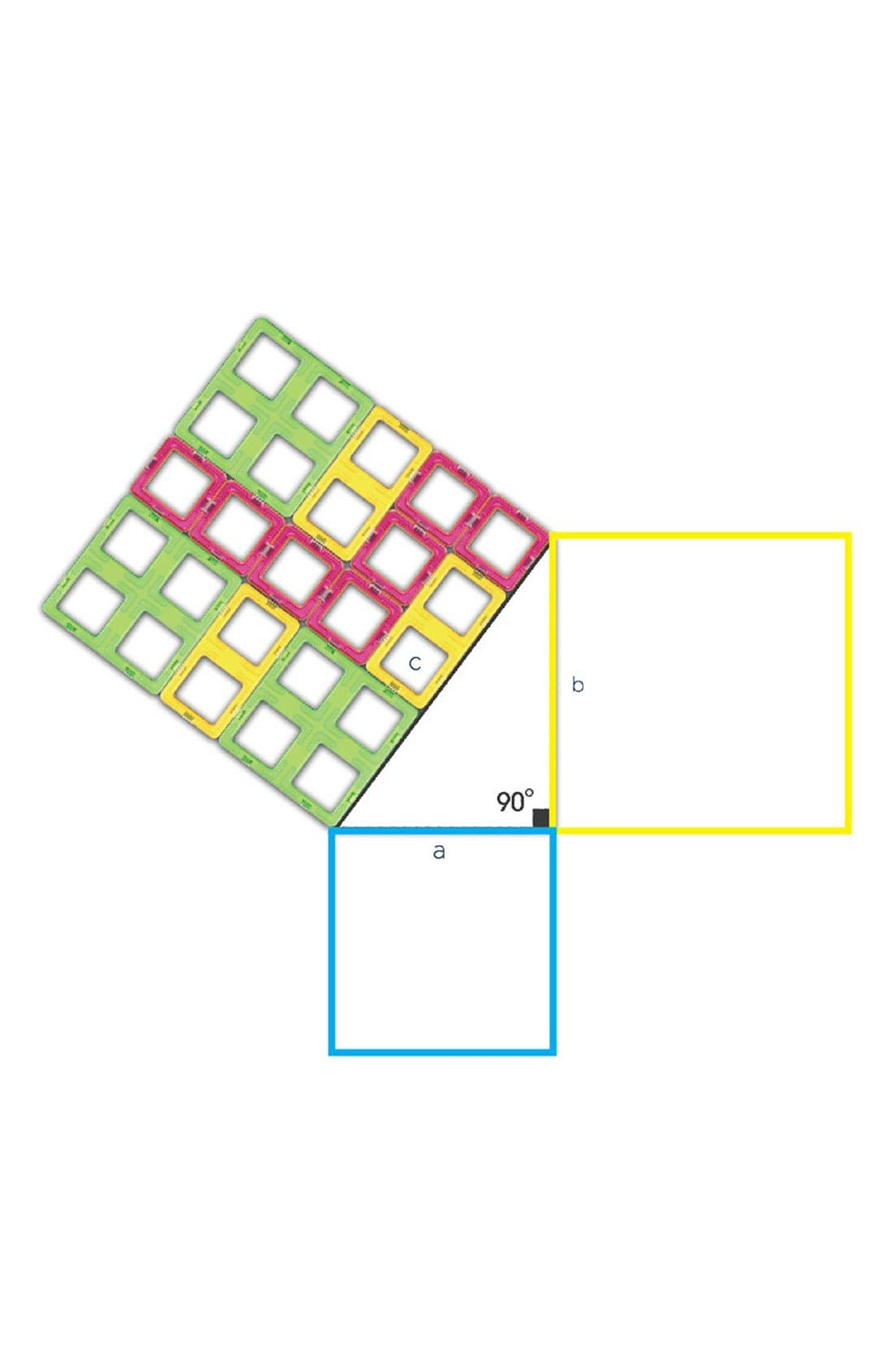 Alternate Image 2  - Magformers 'Pythagoras' Magnetic Construction Set