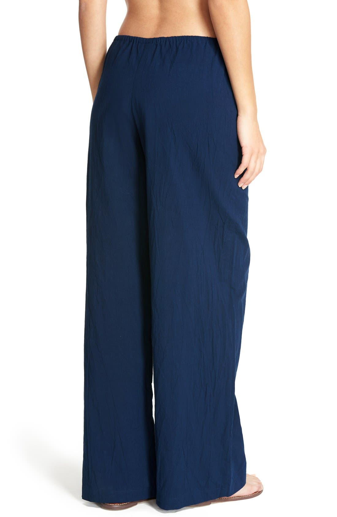 Cover-Up Pants,                             Alternate thumbnail 2, color,                             Mare Navy