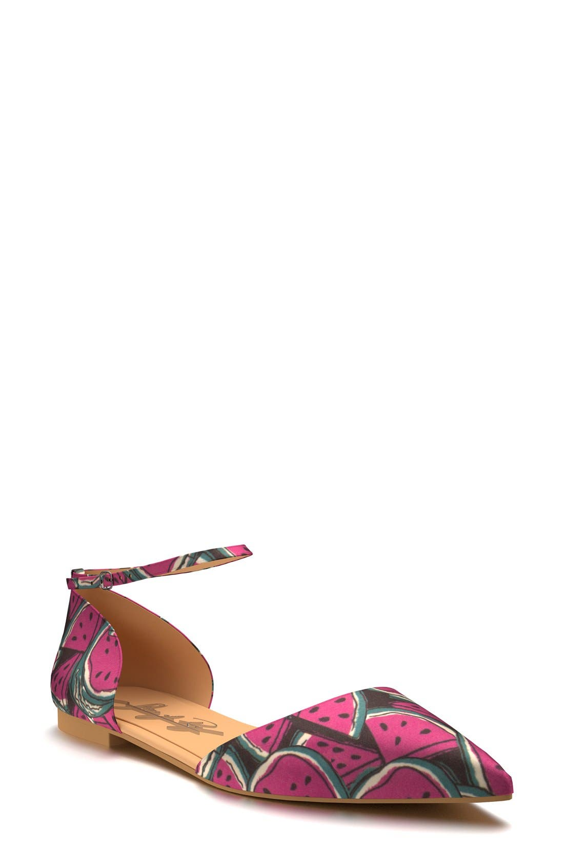 Alternate Image 1 Selected - Shoes of Prey d'Orsay Flat (Women)