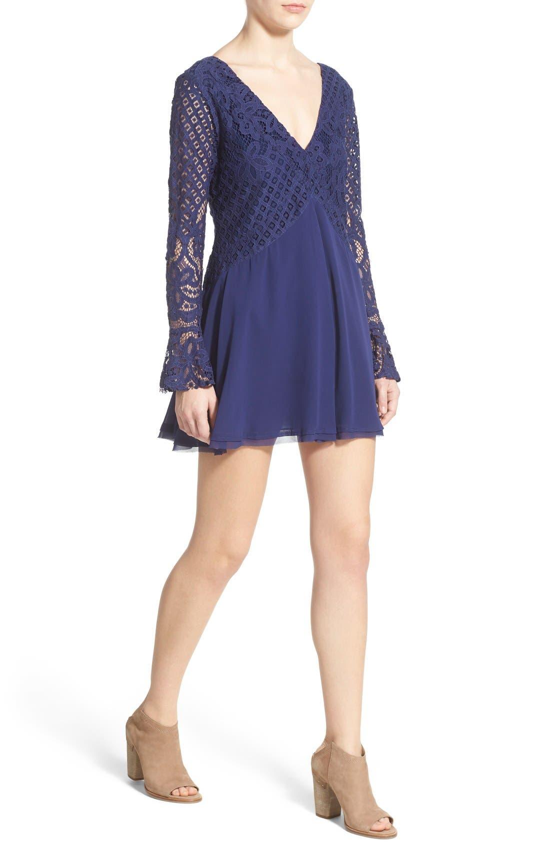 Alternate Image 4  - Tularosa 'Skylar' Bell Sleeve Minidress