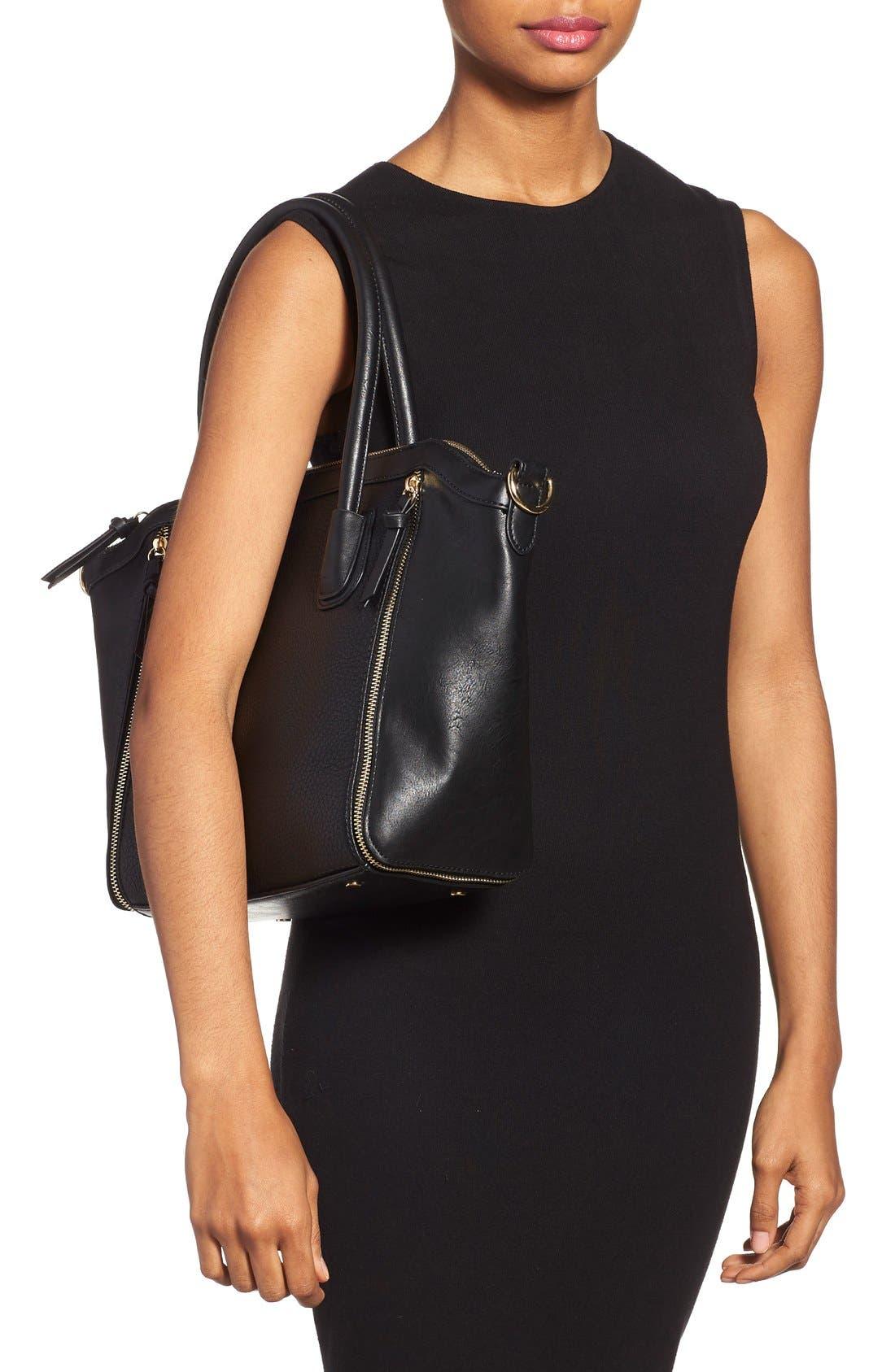 Alternate Image 2  - Sole Society 'Kaylen' Faux Leather Crossbody Satchel