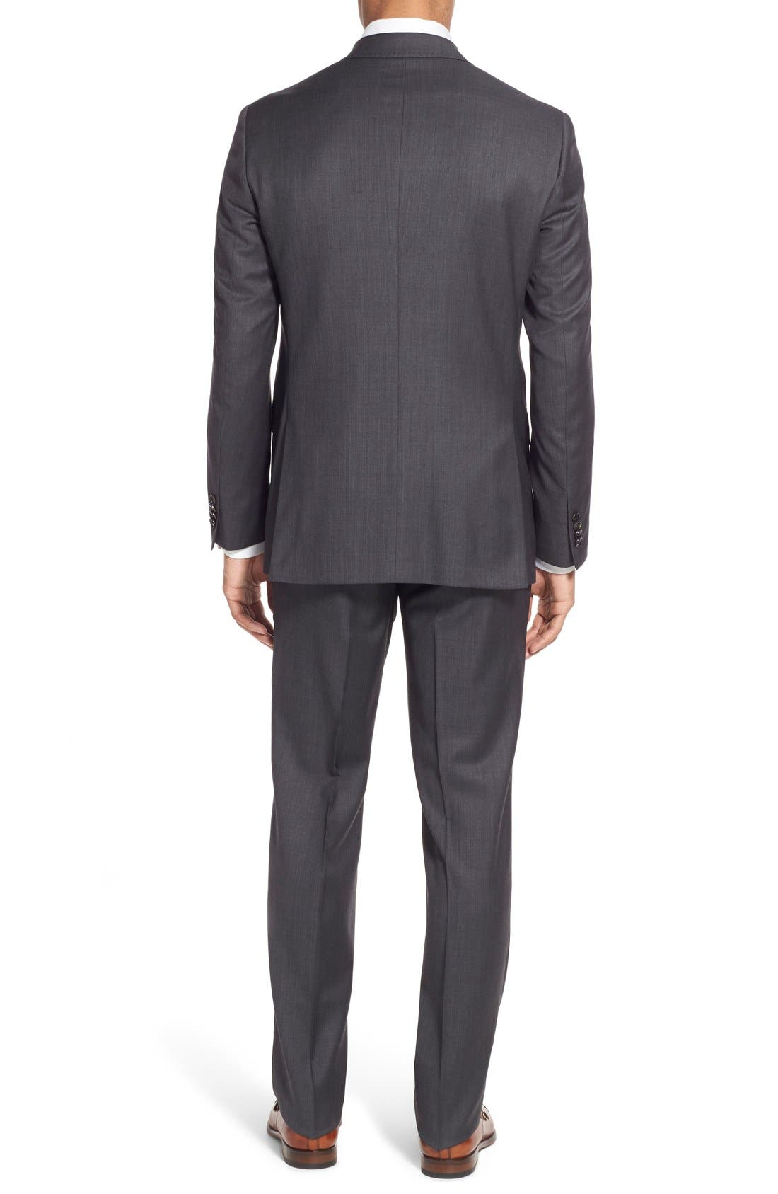 Alternate Image 2  - Ted Baker London 'Jay' Trim Fit Solid Wool Suit