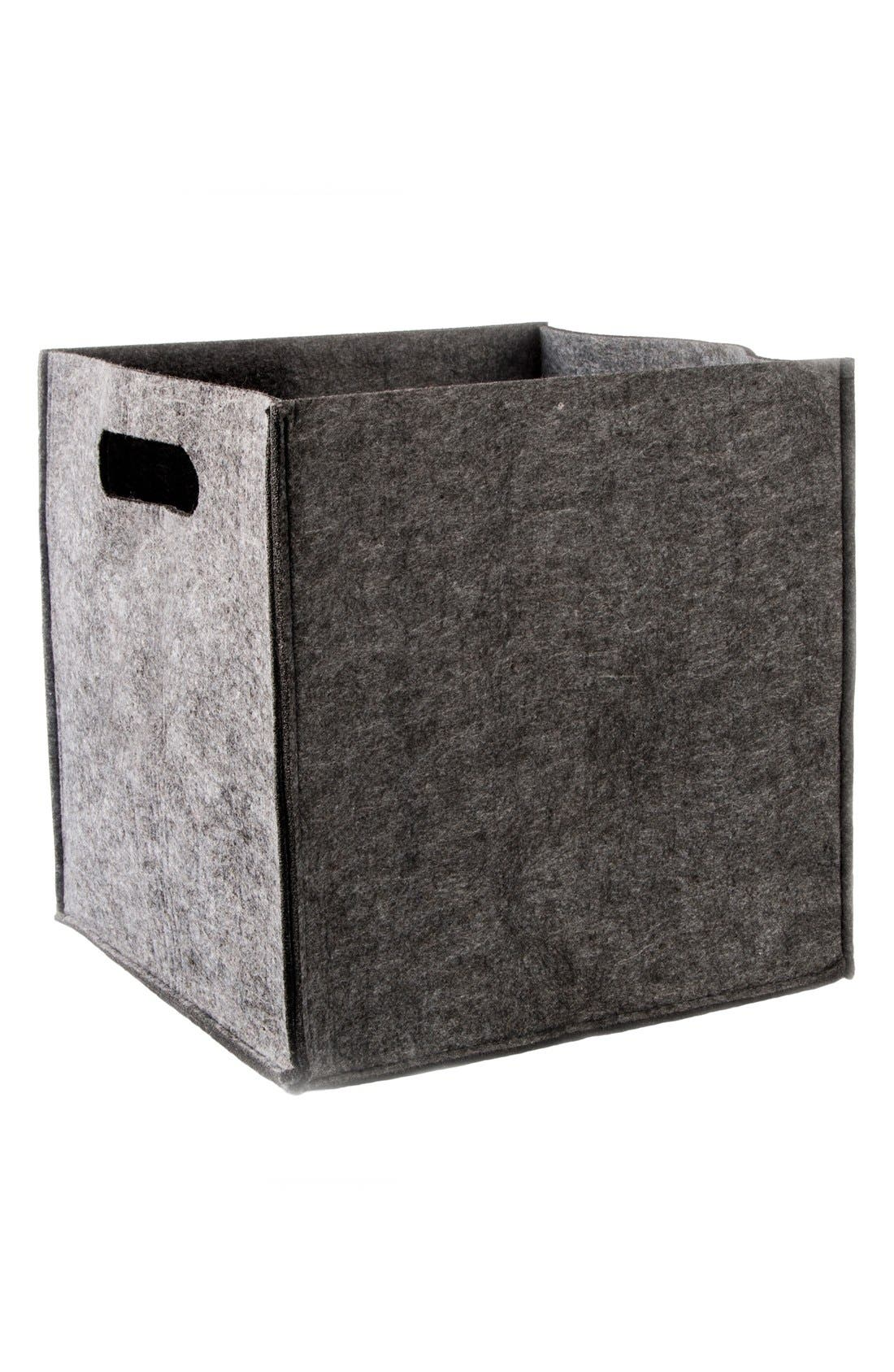 Alternate Image 2  - zestt Felt Storage Basket