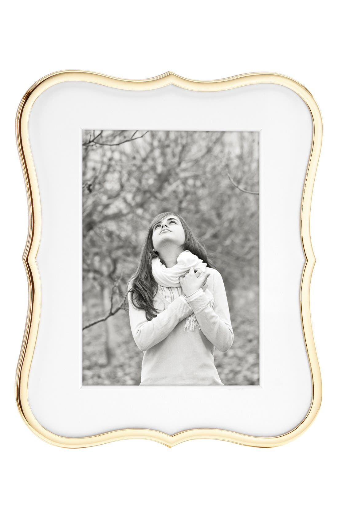 'crown point' picture frame,                             Main thumbnail 1, color,                             Gold