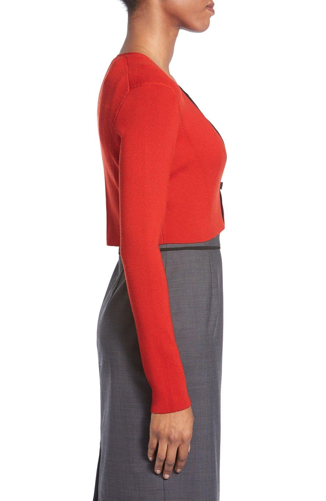 Alternate Image 3  - BOSS 'Filirona' Crop Cardigan