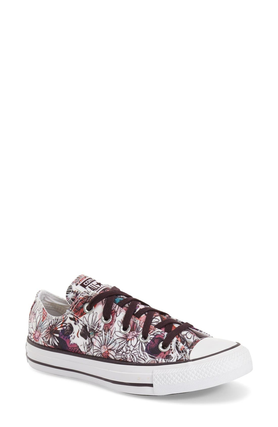 Alternate Image 1 Selected - Converse Chuck Taylor® All Star® 'Daisy Print Ox' Low Top Sneaker
