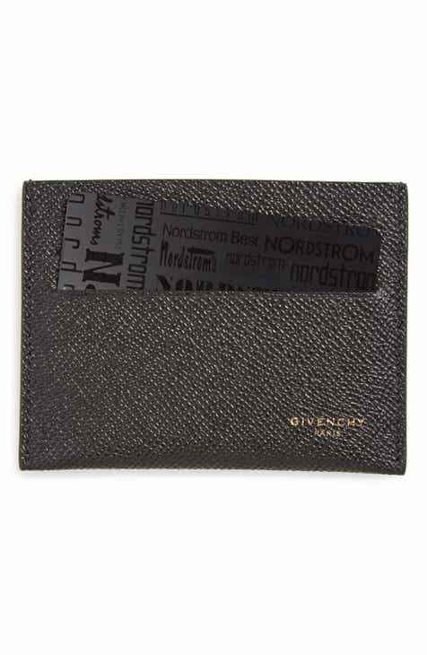f7bf60d3314 Givenchy Textured Leather Card Case