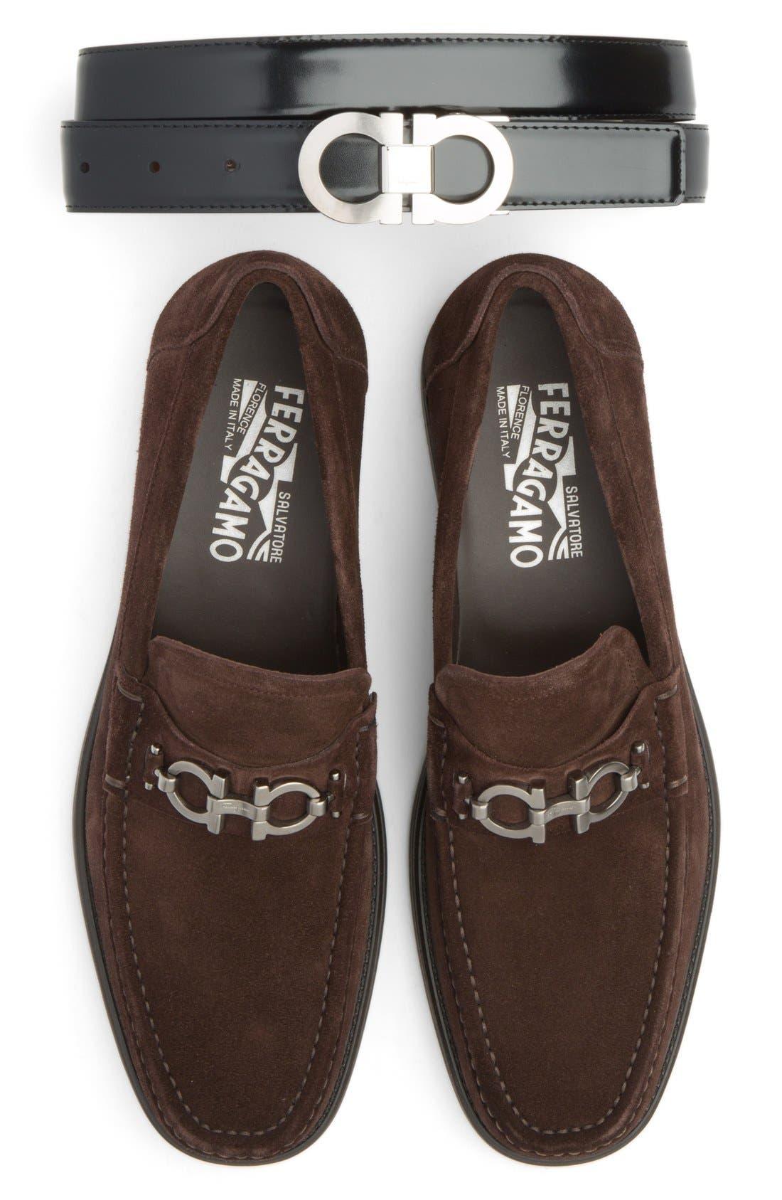 Alternate Image 9  - Salvatore Ferragamo Double Gancio Reversible Leather Belt
