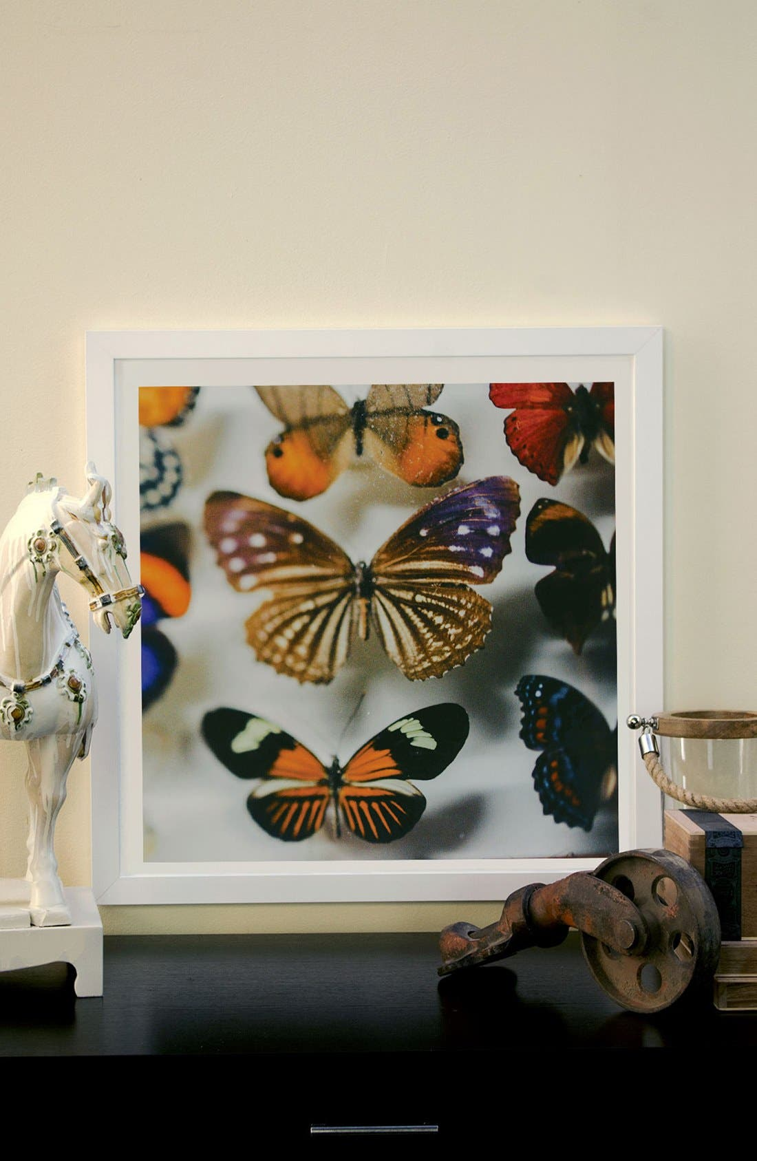 Alternate Image 2  - iCanvas 'Fairy Collection' Framed Fine Art Print