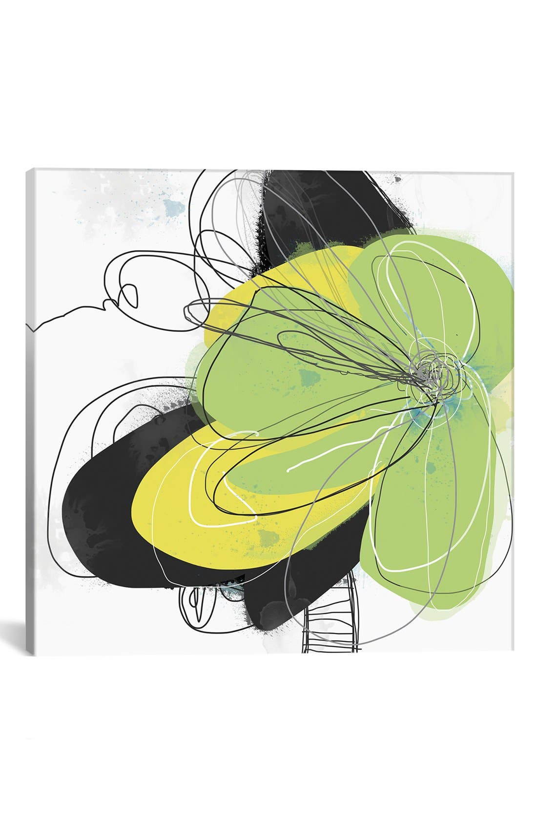 'Joyful Soul' Giclée Print Canvas Art,                         Main,                         color, Green
