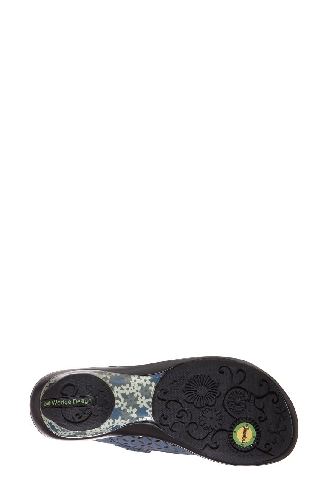 Alternate Image 4  - Jambu 'Journey Too' Peep Toe Sandal