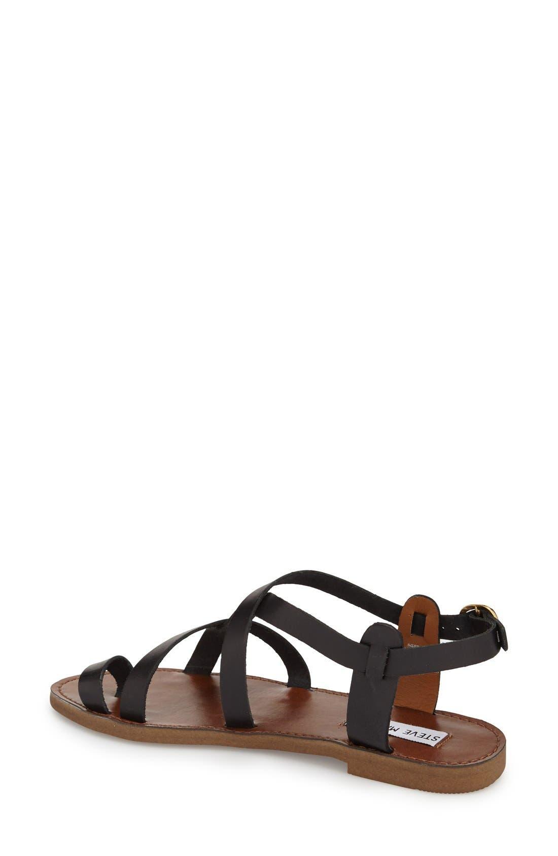 Alternate Image 2  - Steve Madden 'Agathist' Leather Ankle Strap Sandal (Women)