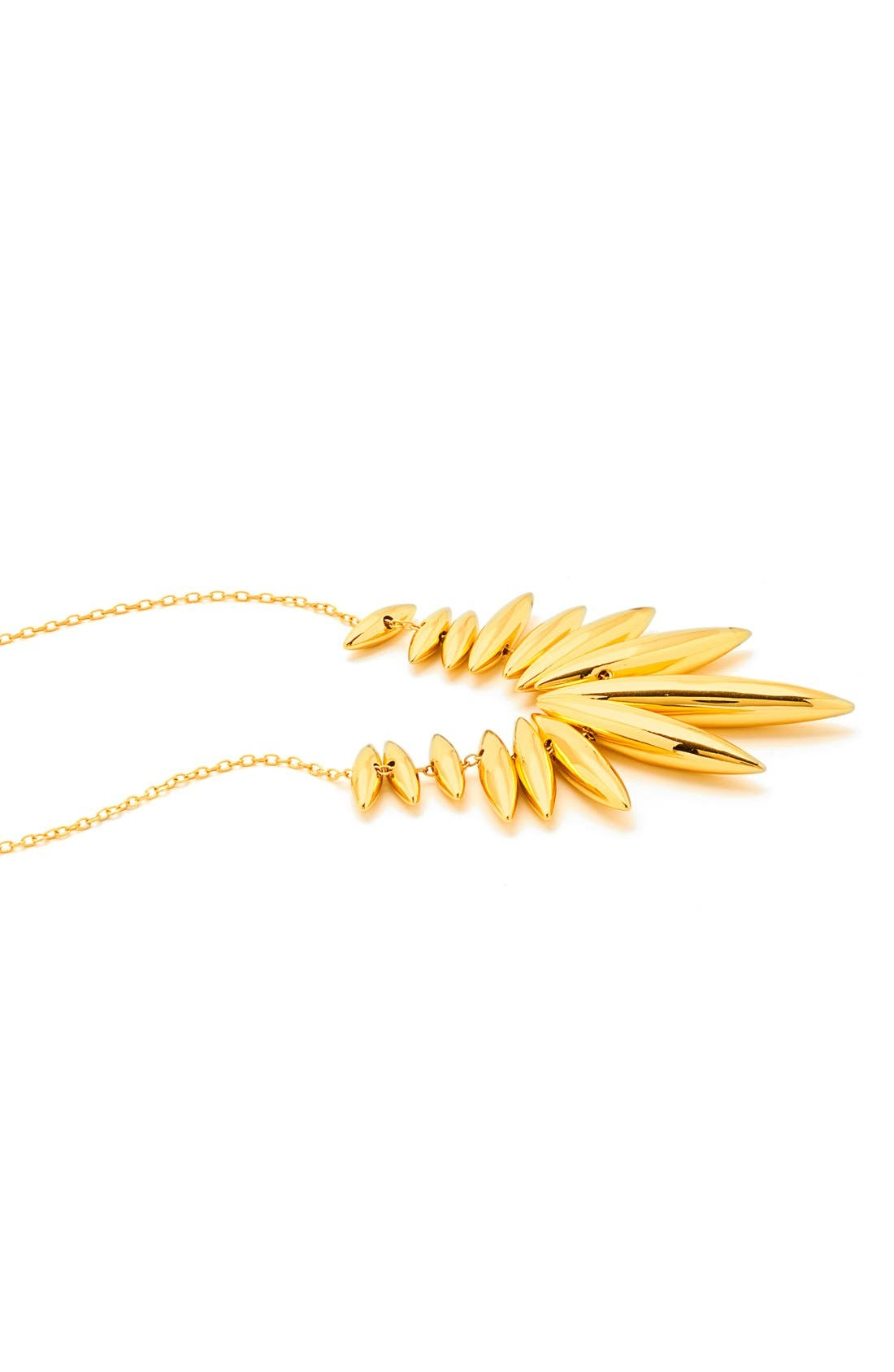 'Lori' Long Necklace,                             Alternate thumbnail 3, color,                             Gold