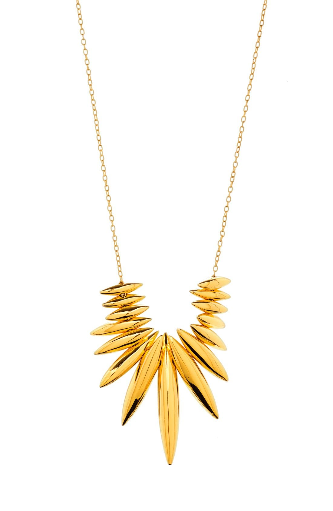 'Lori' Long Necklace,                             Main thumbnail 1, color,                             Gold