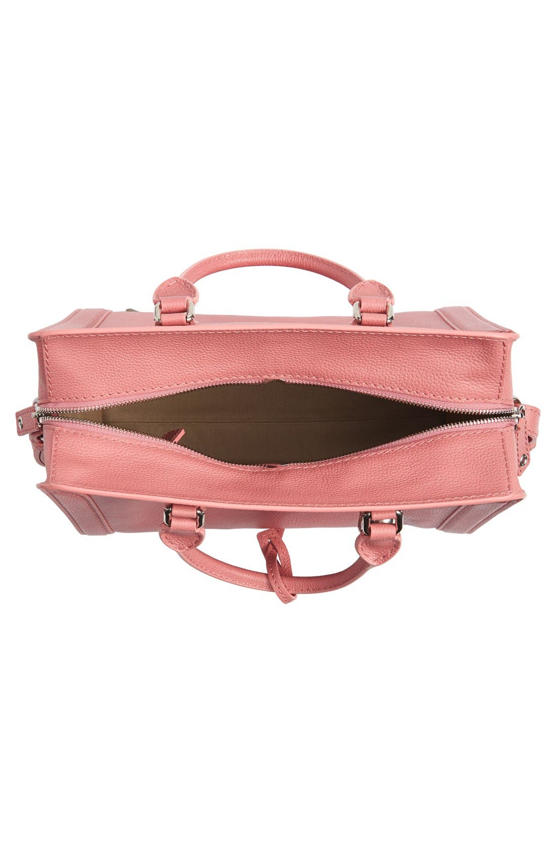 Alternate Image 4  - Alexander McQueen 'Small Padlock' Leather Duffel Bag