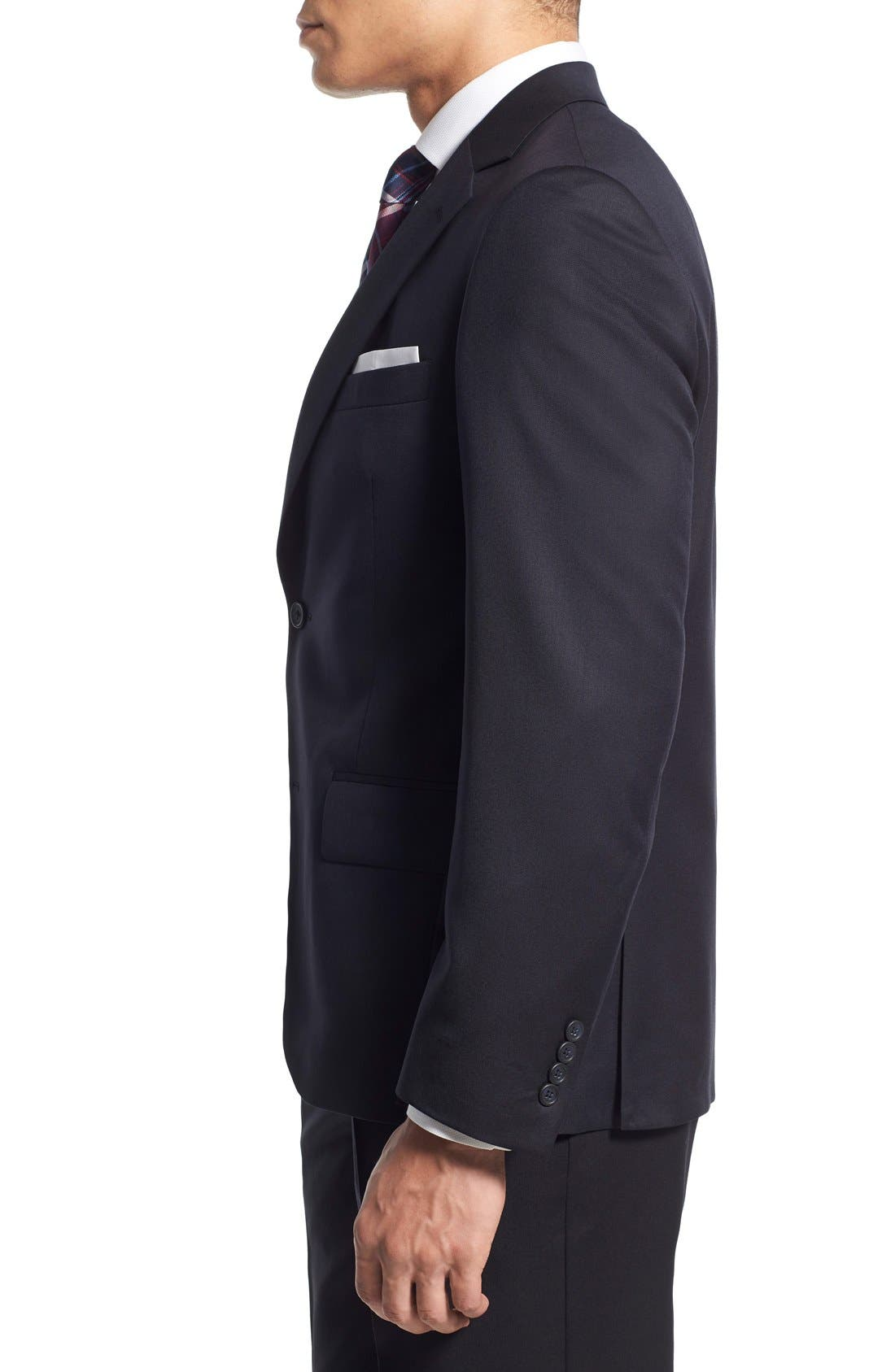 Alternate Image 3  - Nordstrom Men's Shop Trim Fit Wool Blazer