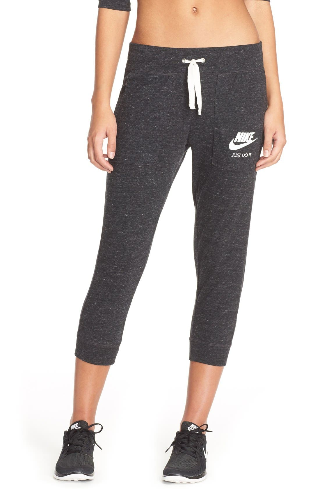 Alternate Image 1 Selected - Nike 'Gym Vintage' Capris