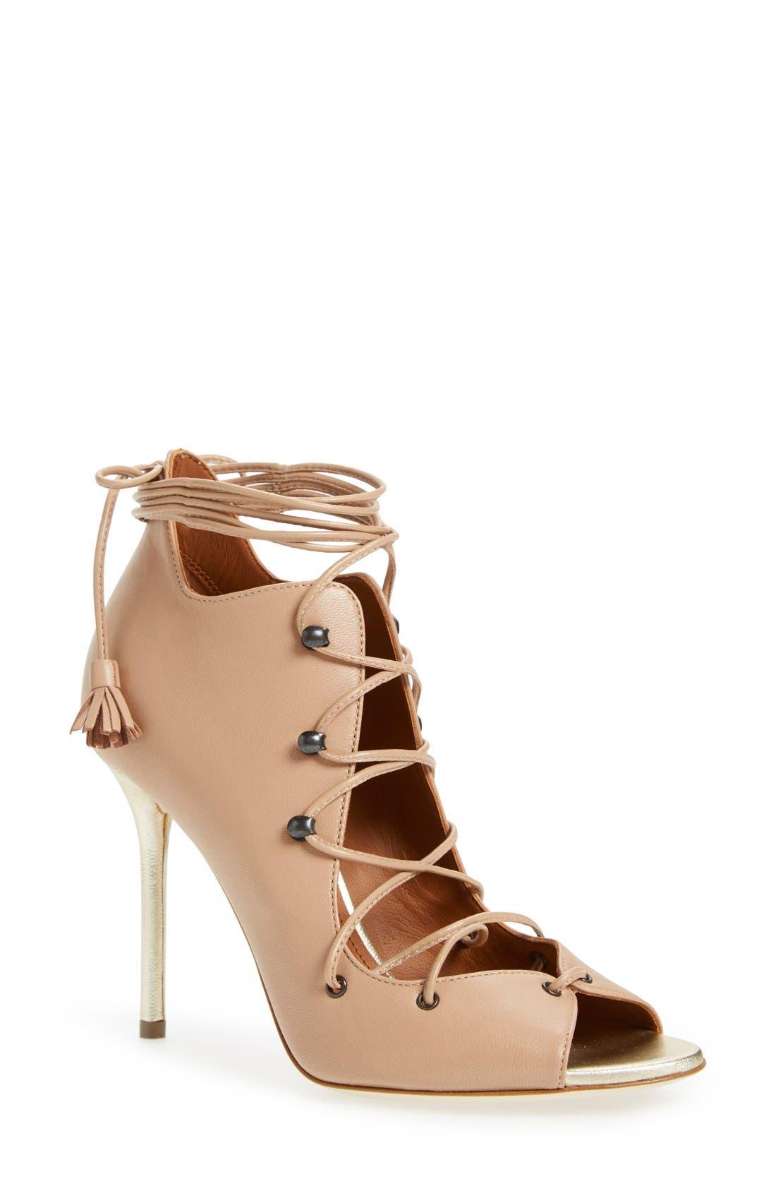 Alternate Image 1 Selected - Malone Souliers 'Savannah' Lace-Up Sandal (Women)