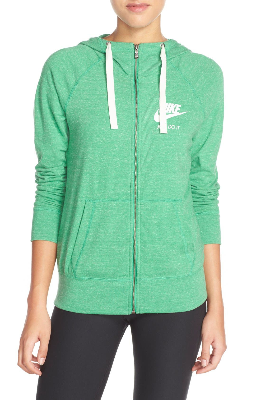 Alternate Image 1 Selected - Nike Gym Zip Hoodie