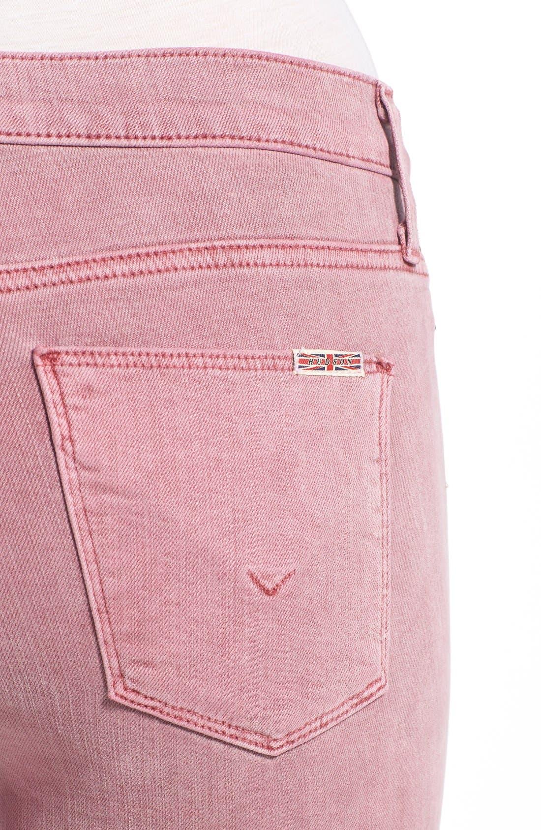 Alternate Image 4  - Hudson Jeans 'Nico' Ankle Skinny Jeans