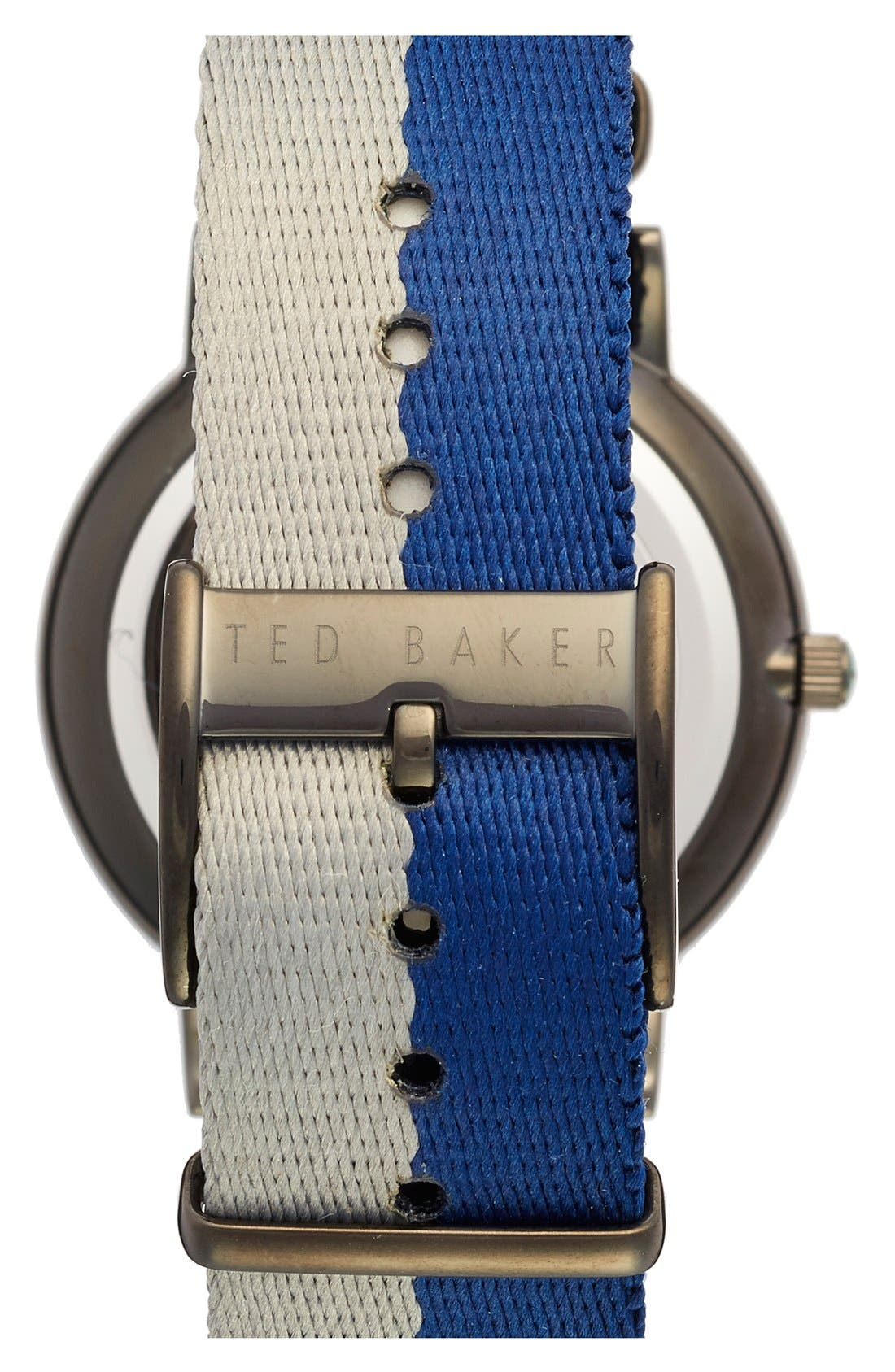 Alternate Image 2  - Ted Baker London NATO Strap Watch, 40mm