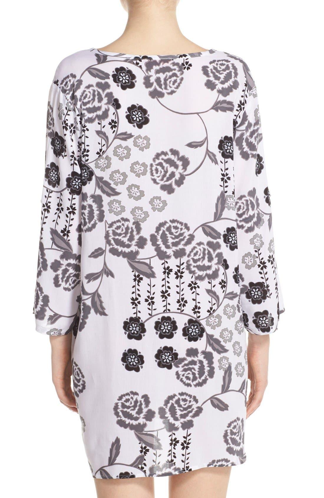 Alternate Image 2  - Josie 'Lovely Roses' Sleep Shirt