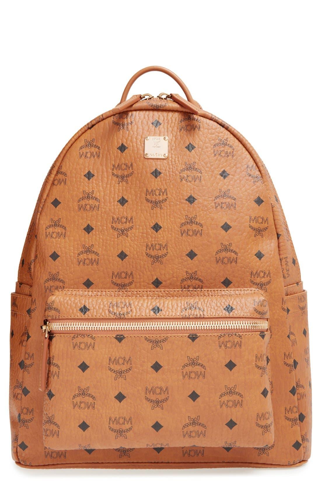 MCM 'Medium Stark - Visetos' Backpack