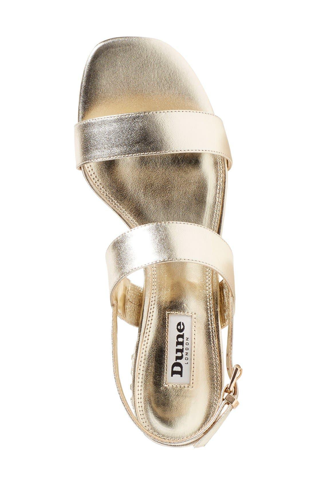 Alternate Image 3  - Dune London 'Ninah' Embellished Block Heel Sandal (Women)