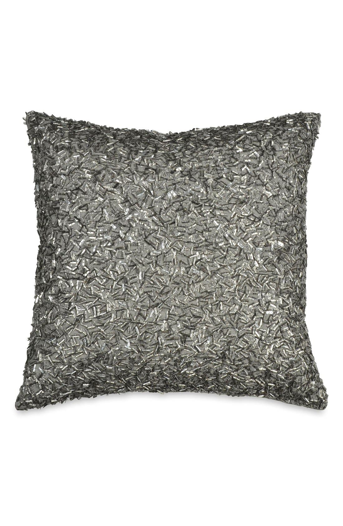 Donna Karan Collection 'Exhale' Pillow,                         Main,                         color, Gunmetal