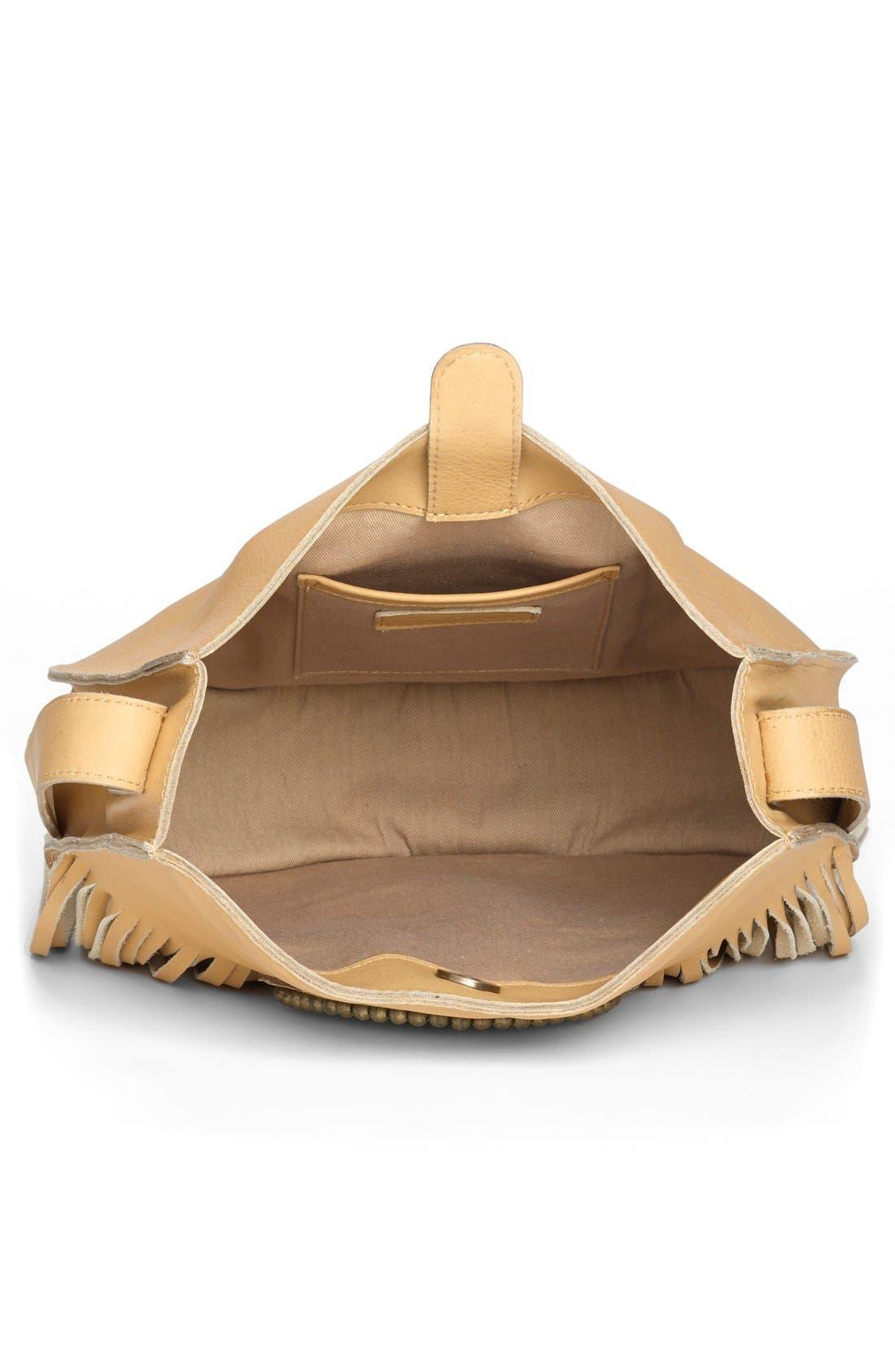 Alternate Image 5  - Sam Edelman 'Karina' Fringe Leather Shoulder Bag