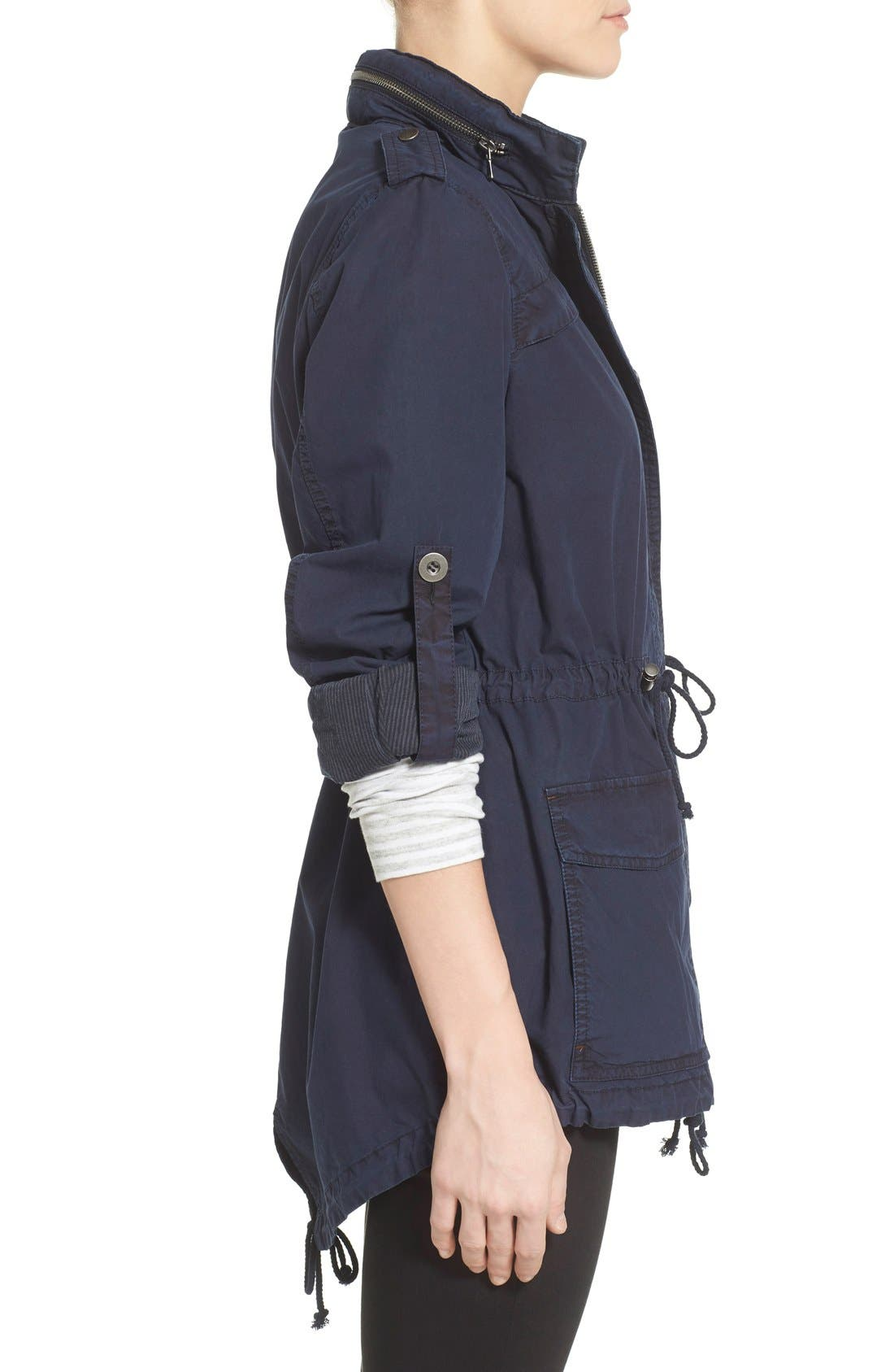 Alternate Image 3  - Levi's® Lightweight Cotton Hooded Utility Jacket