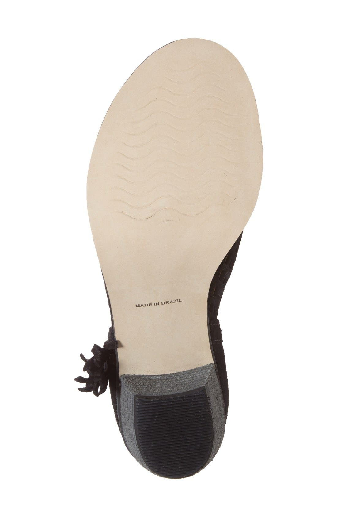 Alternate Image 4  - Matisse 'Indie' Cutout Tassel Bootie (Women)