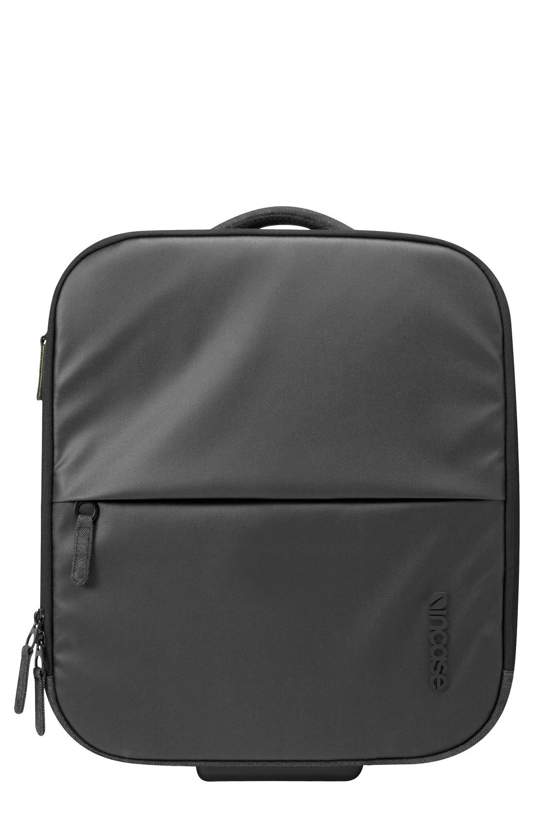 EO Wheeled Briefcase,                             Main thumbnail 1, color,                             Black
