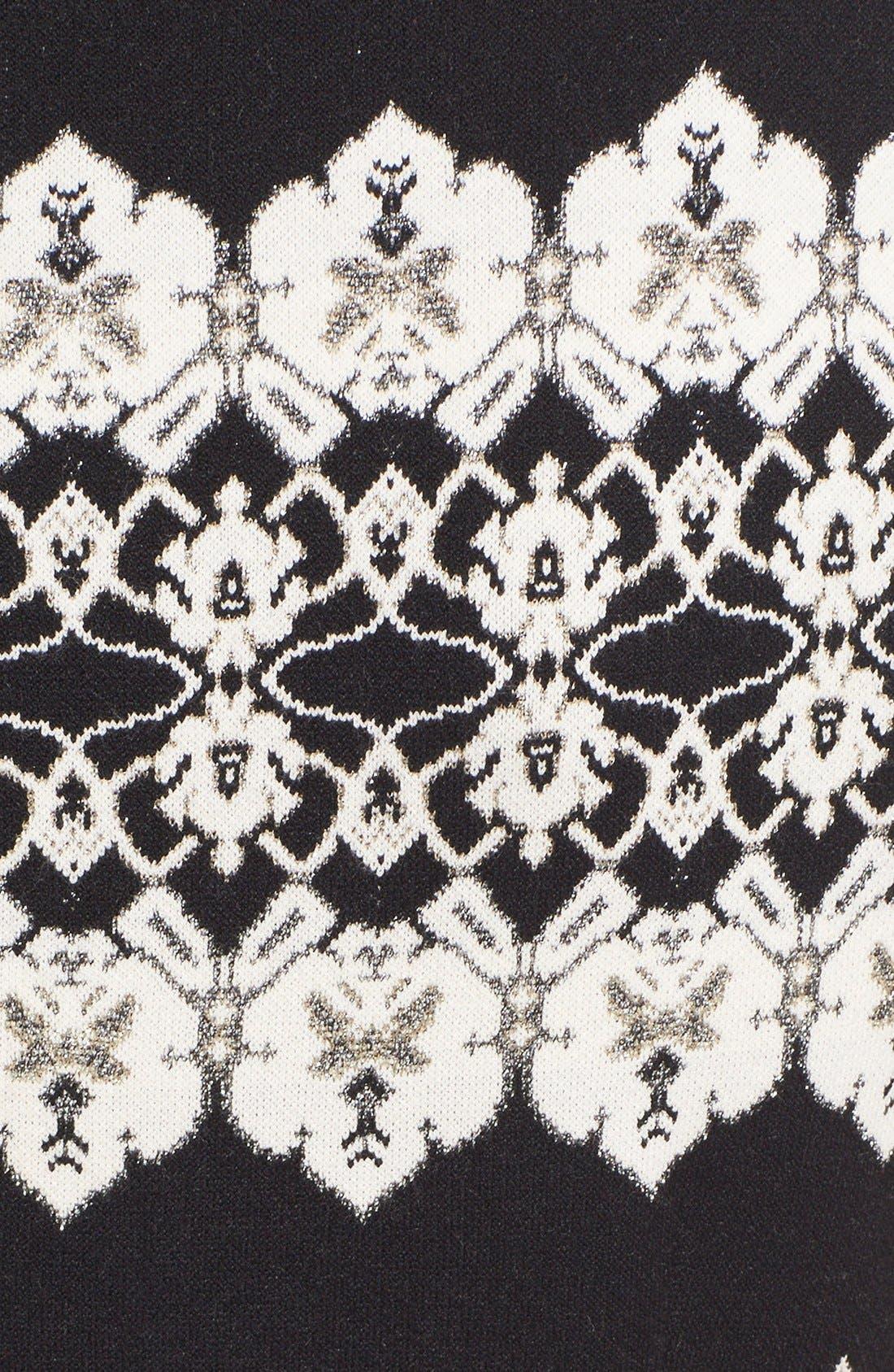 Alternate Image 3  - St. John Collection Jeweled Shimmer Knit Dress